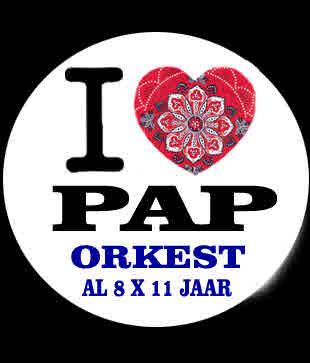 I Love Paporkest Button