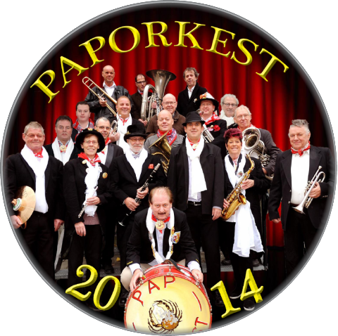 Paporkest 8 X 11 Jubileum – Button 6